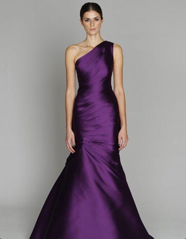 Hermosa Levkoff Factura De Las Damas De Honor Cresta - Vestido de ...
