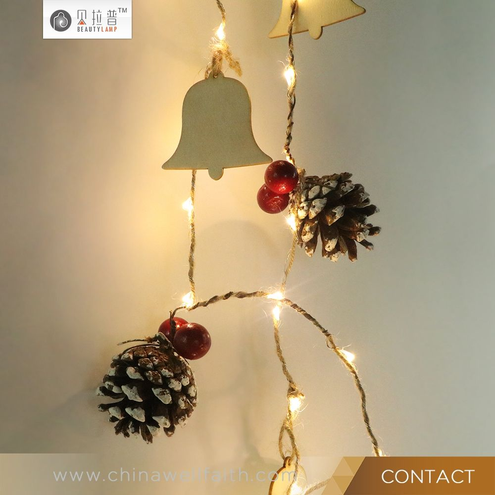 30 Led Christmas Lights String Fairy For Indoor Outdoor Party Wedding Decoration Copper