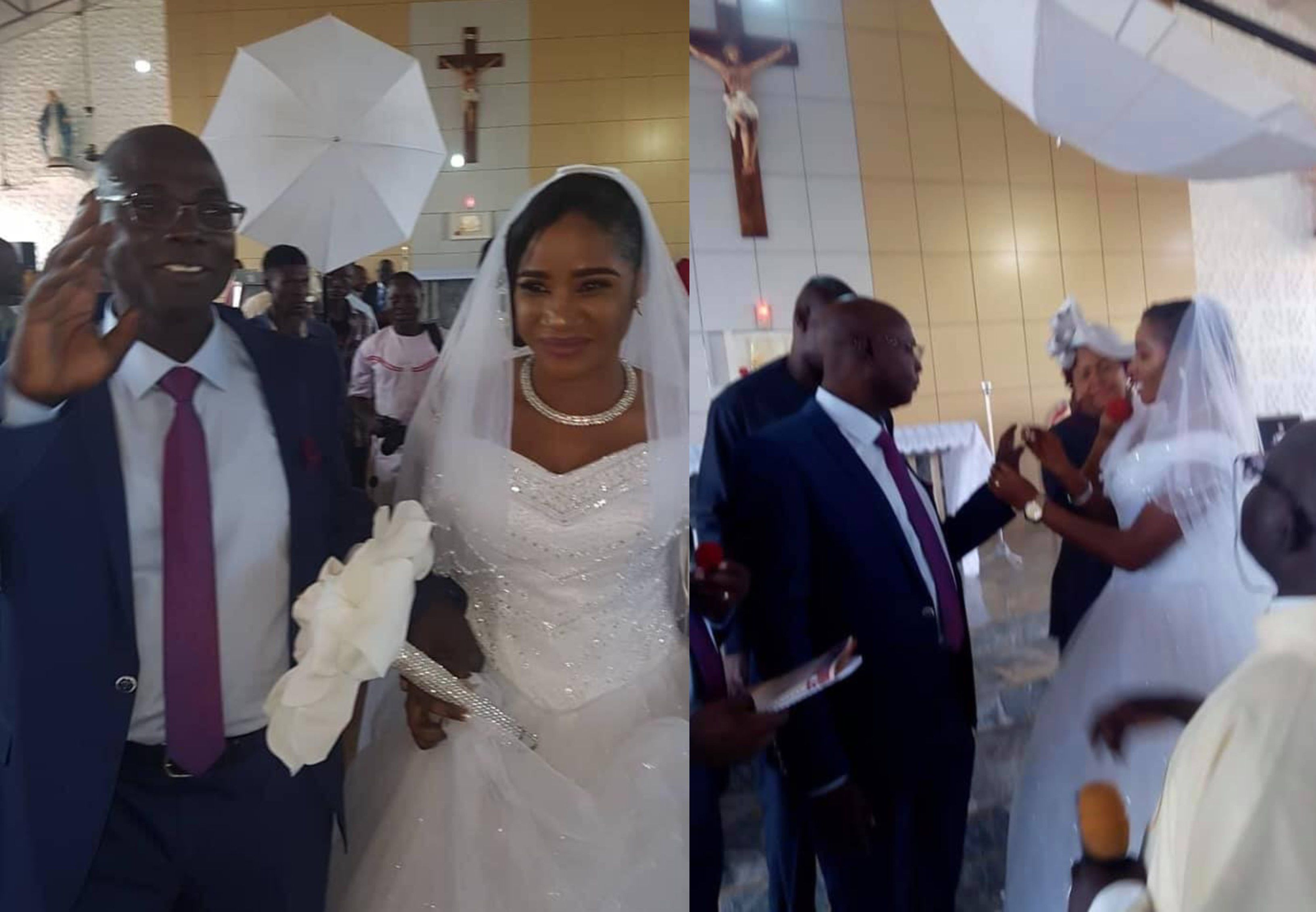 Wedding ceremony of former Catholic Priest of 25 years in