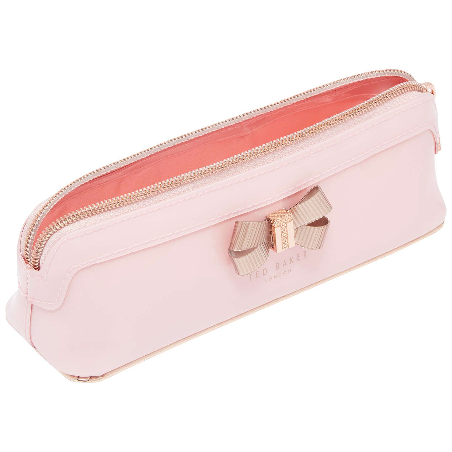 detailed pictures af6d8 529f3 Ted Baker Lora Bow Pencil Case, Pale Pink in 2019 | ♡cute ...