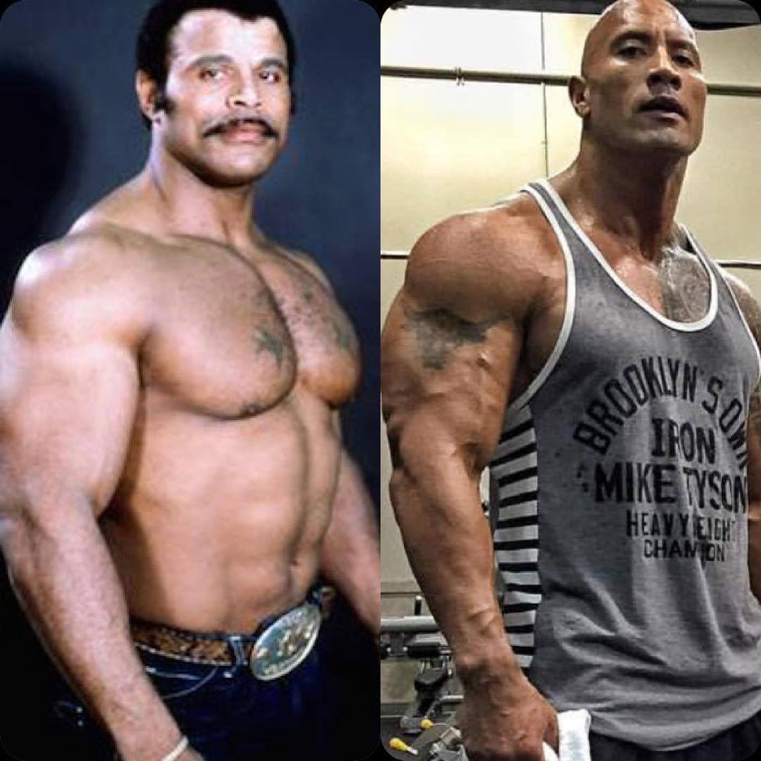 Dwayne Johnson Back Muscles