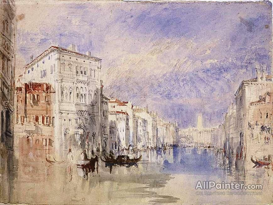 Joseph Mallord William Turner Venice The Palazzo Balbi On The