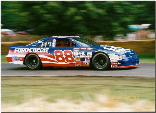 1996 Ford Thunderbird Nascar Goodwood Festival Of Speed 1997 Nascar Race Cars Nascar Cars Nascar