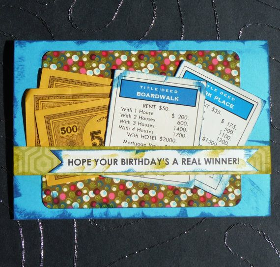 Monopoly winner birthday card from alittlelemonadestandsy monopoly winner birthday card from alittlelemonadestandsy bookmarktalkfo Choice Image