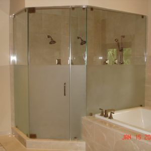 Obscure Glass Shower Door Frameless Glass Shower Doors Frosted