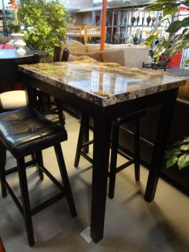 high top kitchen table set gas stove pin by store dining on tables pub 3 piece bar stools furniture counter height chairs roundhill