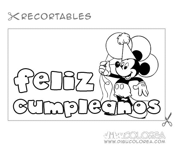 Resultado de imagen para imagenes de mickey mouse en su cumpleaños ...