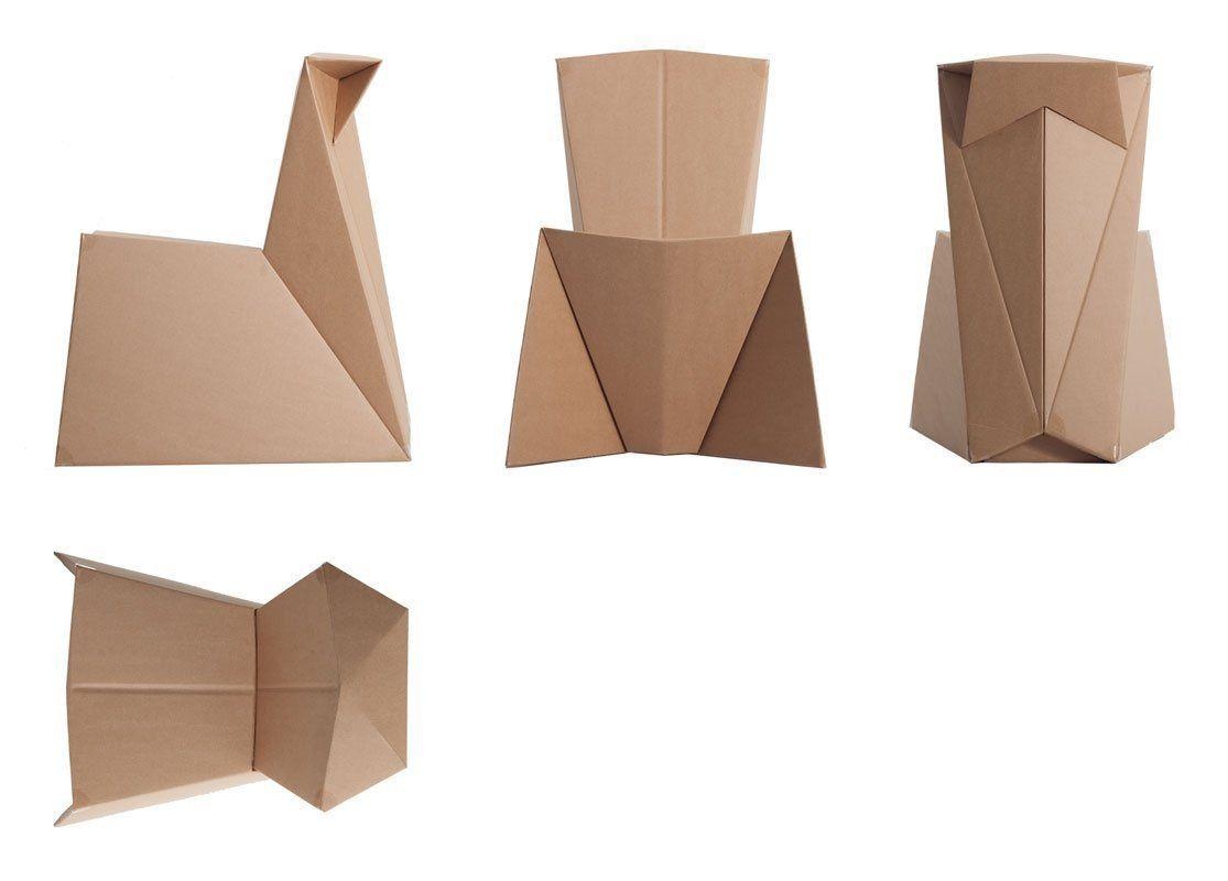 knikits kinderstuhl aus pappe pappstuhl faltbogen zum selberfalten und gestalten. Black Bedroom Furniture Sets. Home Design Ideas