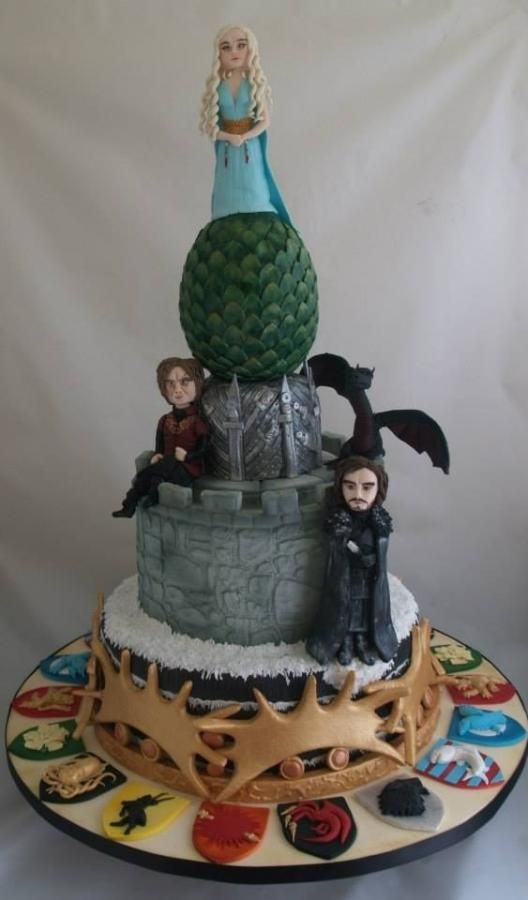 game of thrones cake cakes cake decorating daily. Black Bedroom Furniture Sets. Home Design Ideas