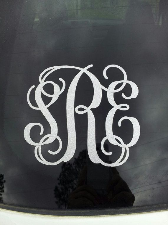 Vinyl Car Decal 5 inches in height by sewspecialonline on Etsy