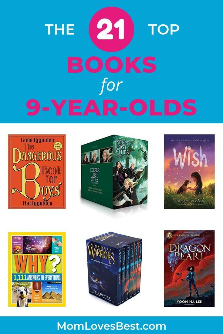 21 books for 9yearolds our top in 2020