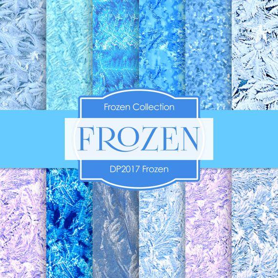 Frozen Digital FROZEN DIGITAL Frozen by DigitalPaperStore ...