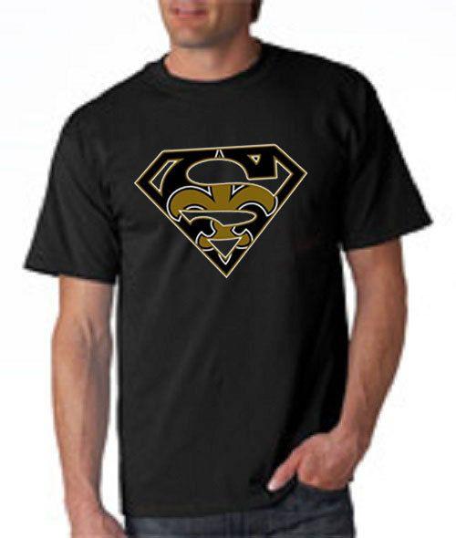 SuperMan New Orleans Custom Logo T Shirt. Add by DieselApparel ... 99048fc618a8