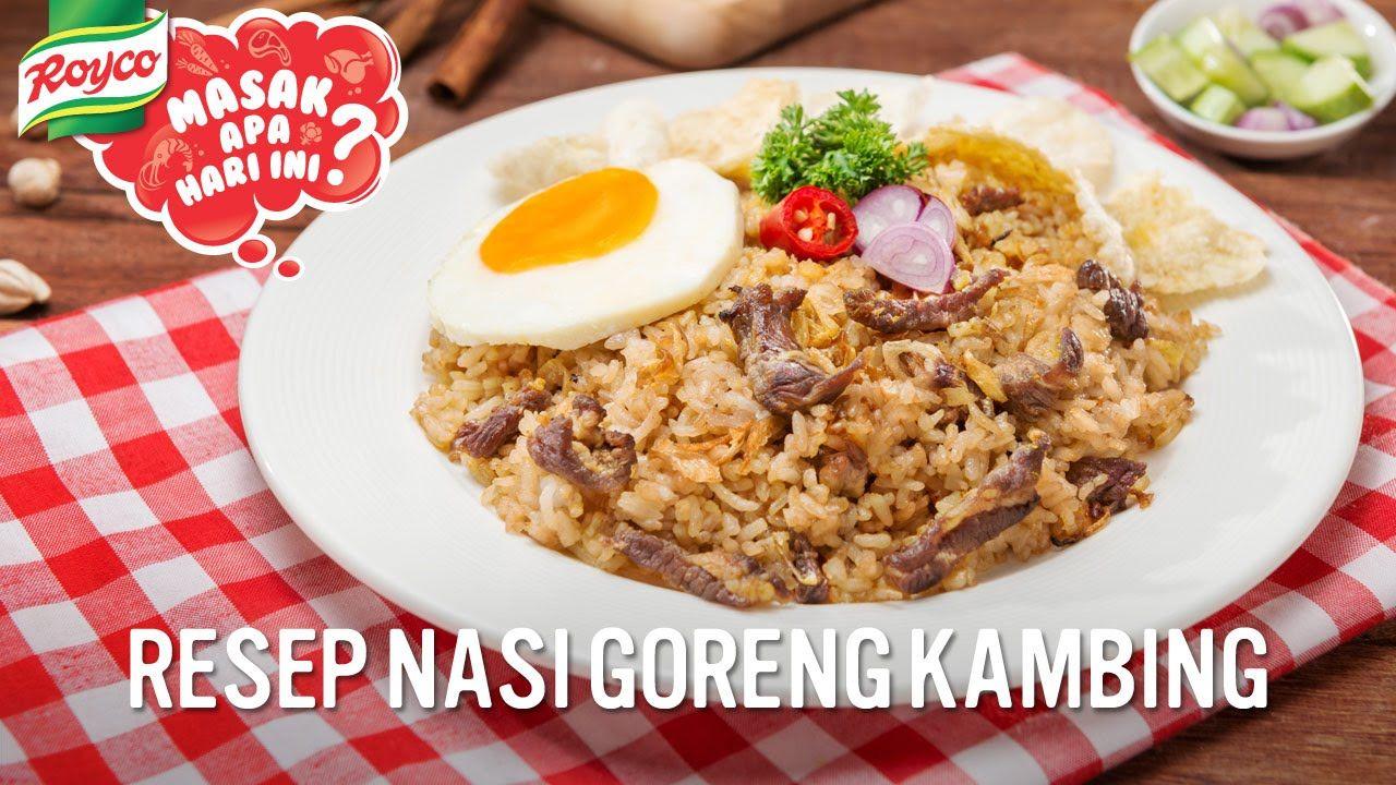 Resep Nasi Goreng Kambing Nasi Goreng Food Breakfast
