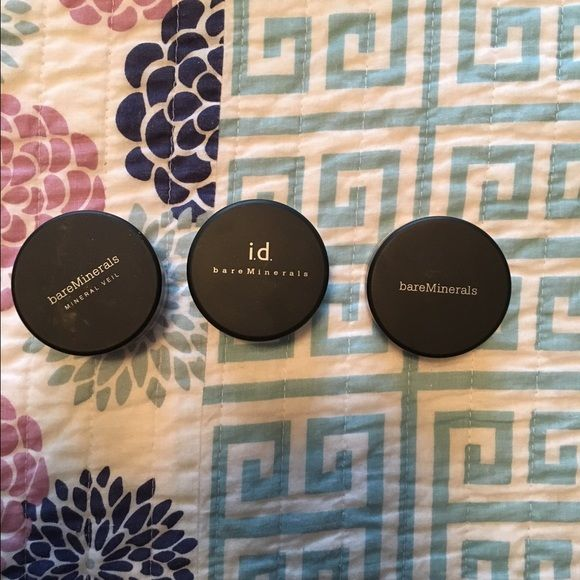 Brand New Bare Minerals Brand new and never used bare minerals. Original Mineral Veil. Warmth. And Tan. Willing to sell separately. bareMinerals Makeup Foundation