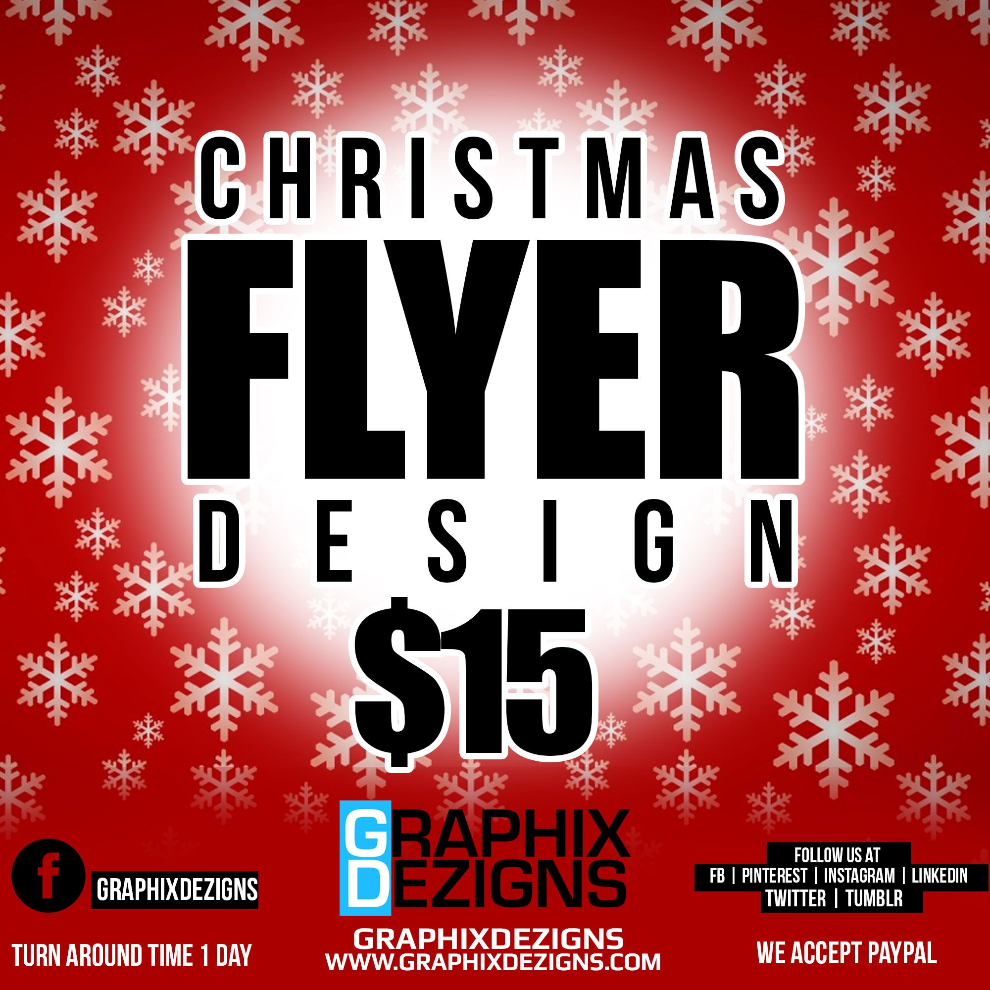 christmas flyer ideas