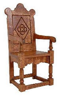 Charming Furniture Tudor Style Chair Architecture Pinterest