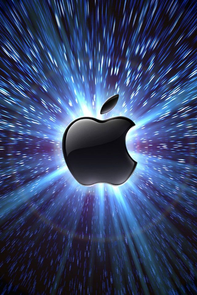 Apple Blueburst! | Apple Logo Designs | Apple ipad wallpaper