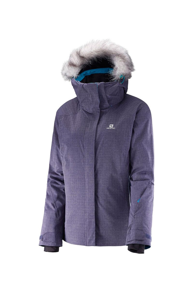 c2f68b53555 2017 Salomon Women's Brilliant + Insulated Ski Jacket (Size XS Left ...