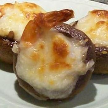 Shrimpcargot � shrimp stuffed mushrooms