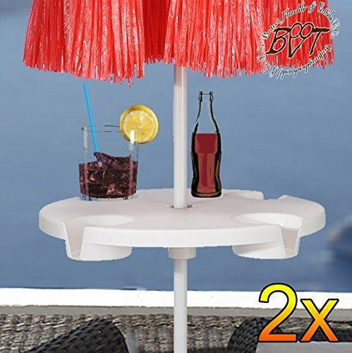 2 Piece XL Over Parasol Umbrella Table Drinks Holder For Parasol Pole Pole  Diameter 12 Mm U2013 42 Mm U2013 Complete With Durable Parasol Cover, Parasol Base  For ...