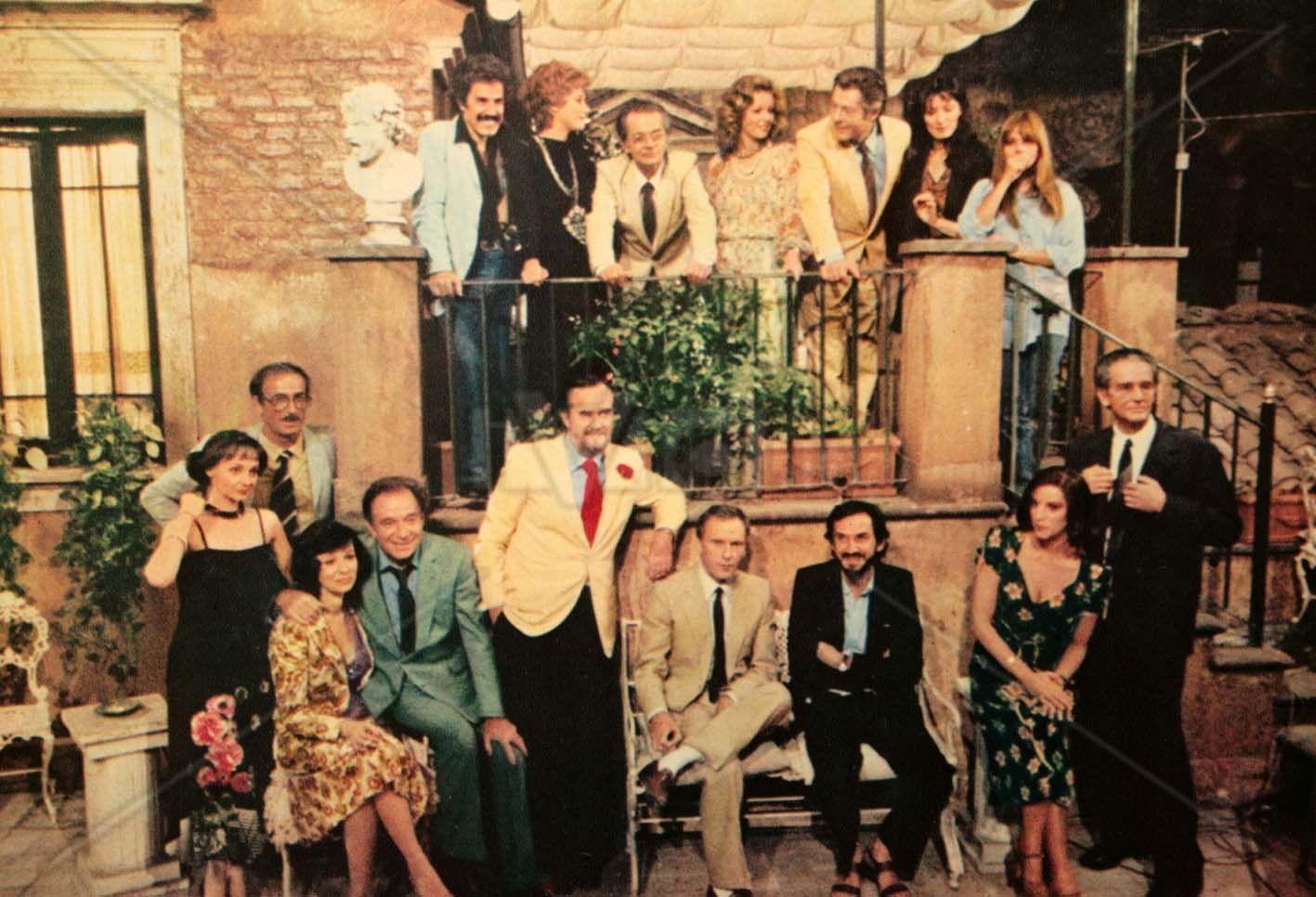 LA TERRAZZA • 1980 • Ettore Scola • Jean-Louis Trintignant, Marcello ...