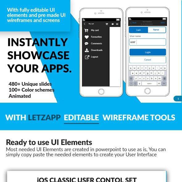 Letzapp Project Proposal Presentation Template Powerpoint