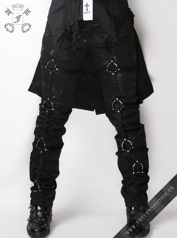 c6e6247fa1c The Kraken - women s Visual Kei   Gothic Punk style trousers by GLP ...