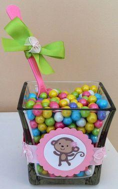 Jungle Jill Monkey Baby Shower candy bar