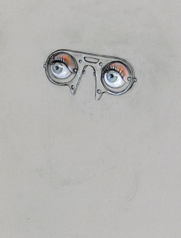 The picture of eyes represents T.j. eckleburg's eyes in