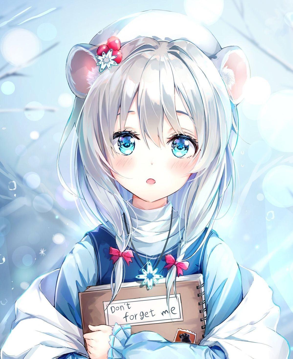 Pin en just anime girl