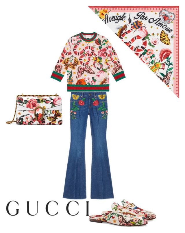"""""""Gucci Gucci"""" by ren1 ❤ liked on Polyvore featuring Gucci"""