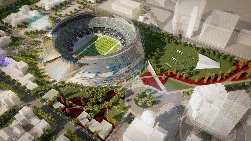 Gallery of San Diego Stadium Master Plan / de bartolo