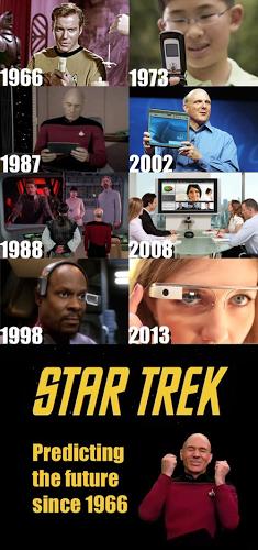 Star Trek predicted the future!