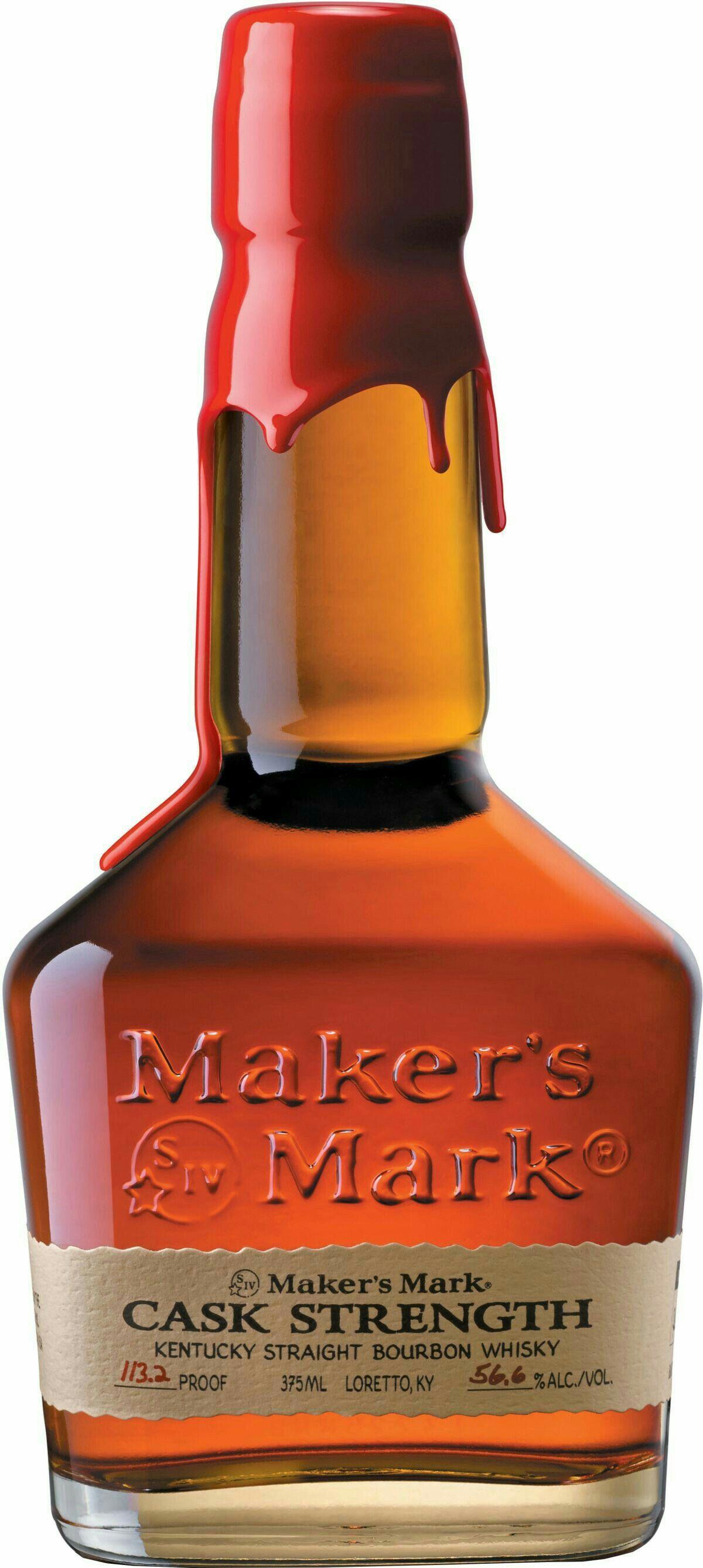 Maker S Mark Cask Strength Kentucky Bourbon Whisky Kentucky Straight Bourbon Whiskey Cigars And Whiskey Whiskey