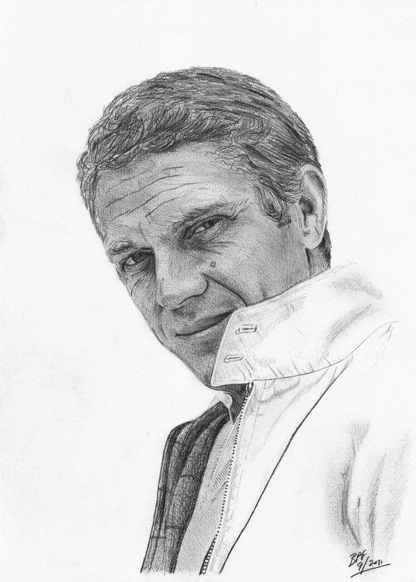 Steve McQueen by Cool pencil