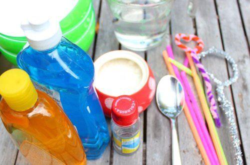 recetas para hacer burbujas en casa