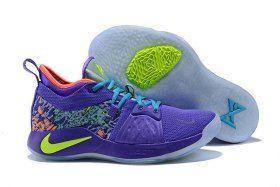 1fe06eeac8fe New Designer Nike PG2 Mamba Mentality Cannon Volt Purple Venom AO2986 001  Men s Basketball Shoes Male Sneakers