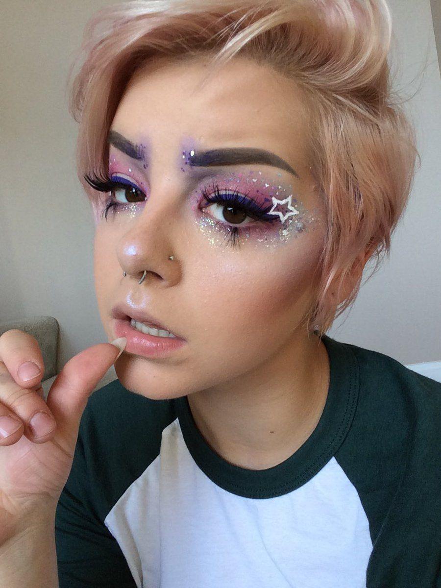 J.R.R. TOKIN' on Rave makeup, Coachella makeup, Creative