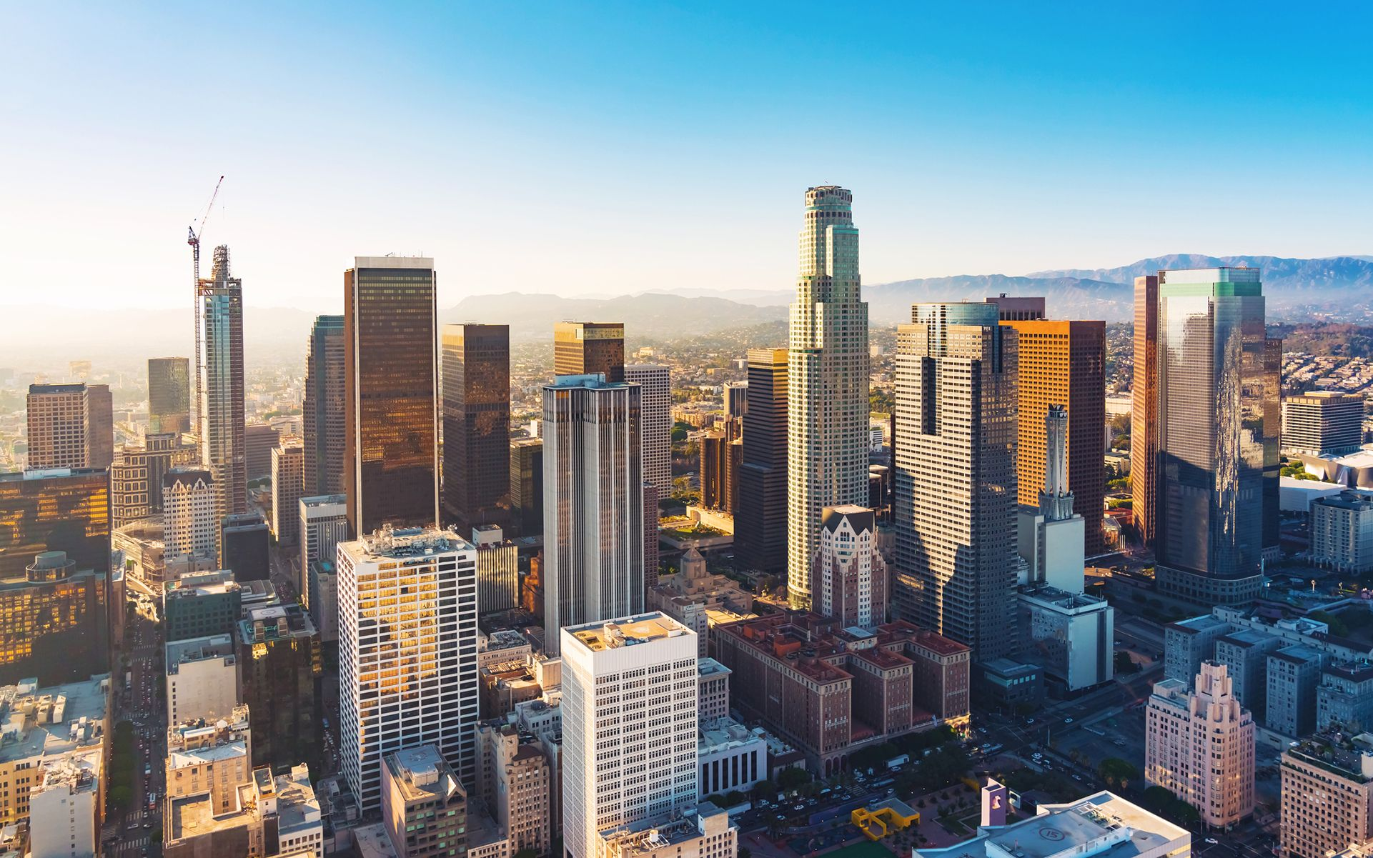 La Approves Prop M Here S What Will Change Downtown Los Angeles Los Angeles Aerial View