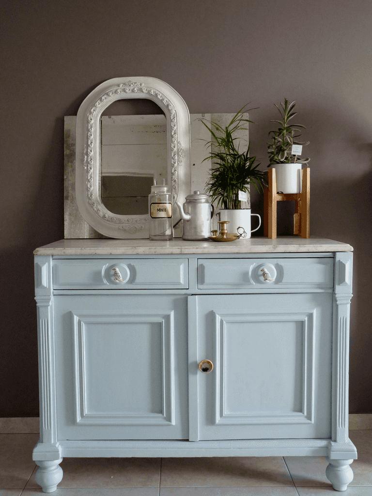 Muebles Restaurados En Blanco Great Muebles De Pino Pintados De  # Muebles Restaurados En Blanco