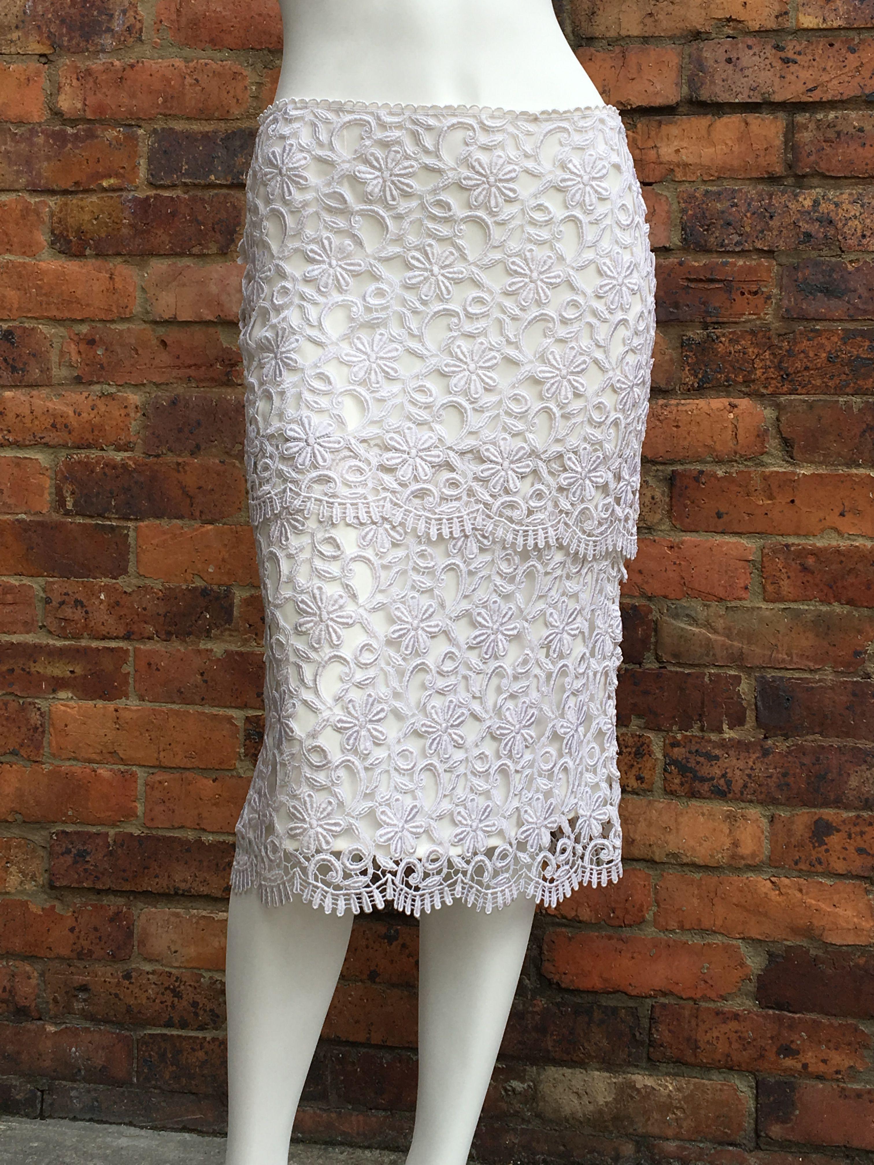#falda #Guipur #Blancos #encaje #verano #fashion #ElenaUrrutia