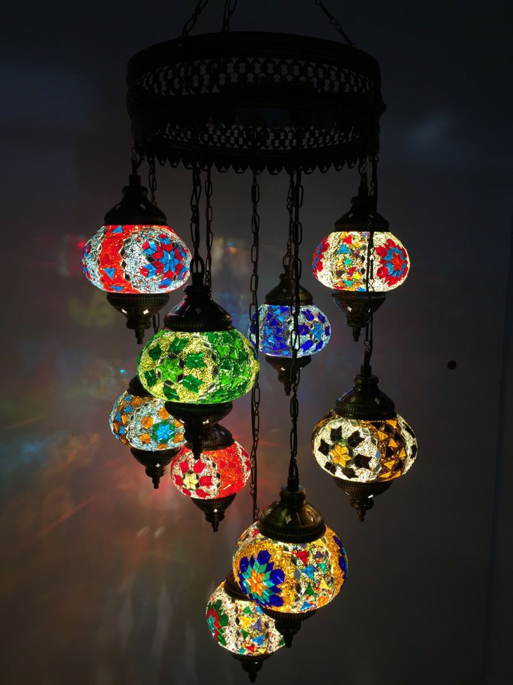 Customize handcrafted turkish ottoman moroccan mosaic lamp customize handcrafted turkish ottoman moroccan mosaic lamp chandelier 9 balls aloadofball Choice Image