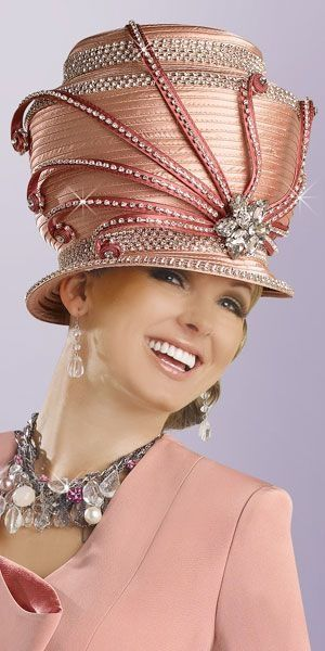 DUSTY ROSE...  *This hat leaves me speechless.......