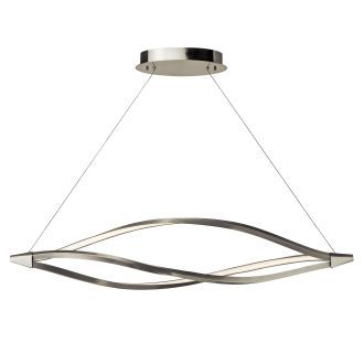 view the elan meridian large linear chandelier meridian large linear
