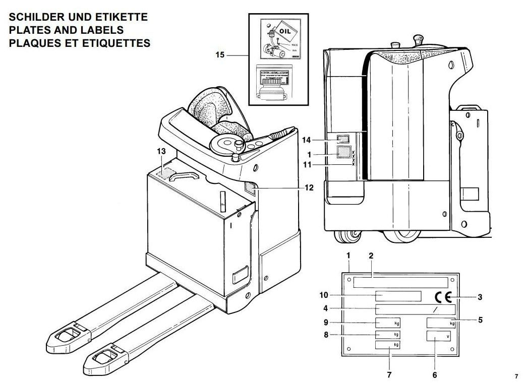 medium resolution of linde pallet truck type 144 t20s before n 01093 operating instructions user manual