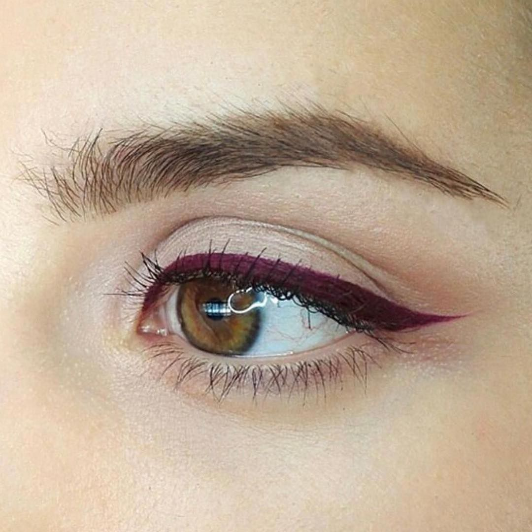 """˗ˏˋ 💄 ˎˊ˗ on Instagram """"Plum liner is a must this season"""
