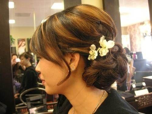 Tremendous Updo Bride Hairstyles And Wedding On Pinterest Short Hairstyles For Black Women Fulllsitofus