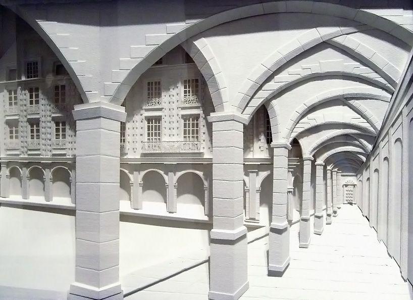 Christina Lihan: Paper shadowbox sculptures