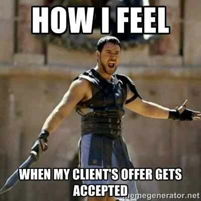 Accepted Offer Feeling